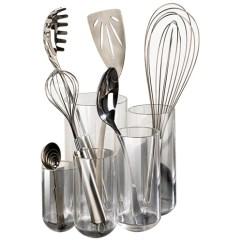 Kitchen Tool Holder 60 Inch Island Acrylic Utensil In Holders
