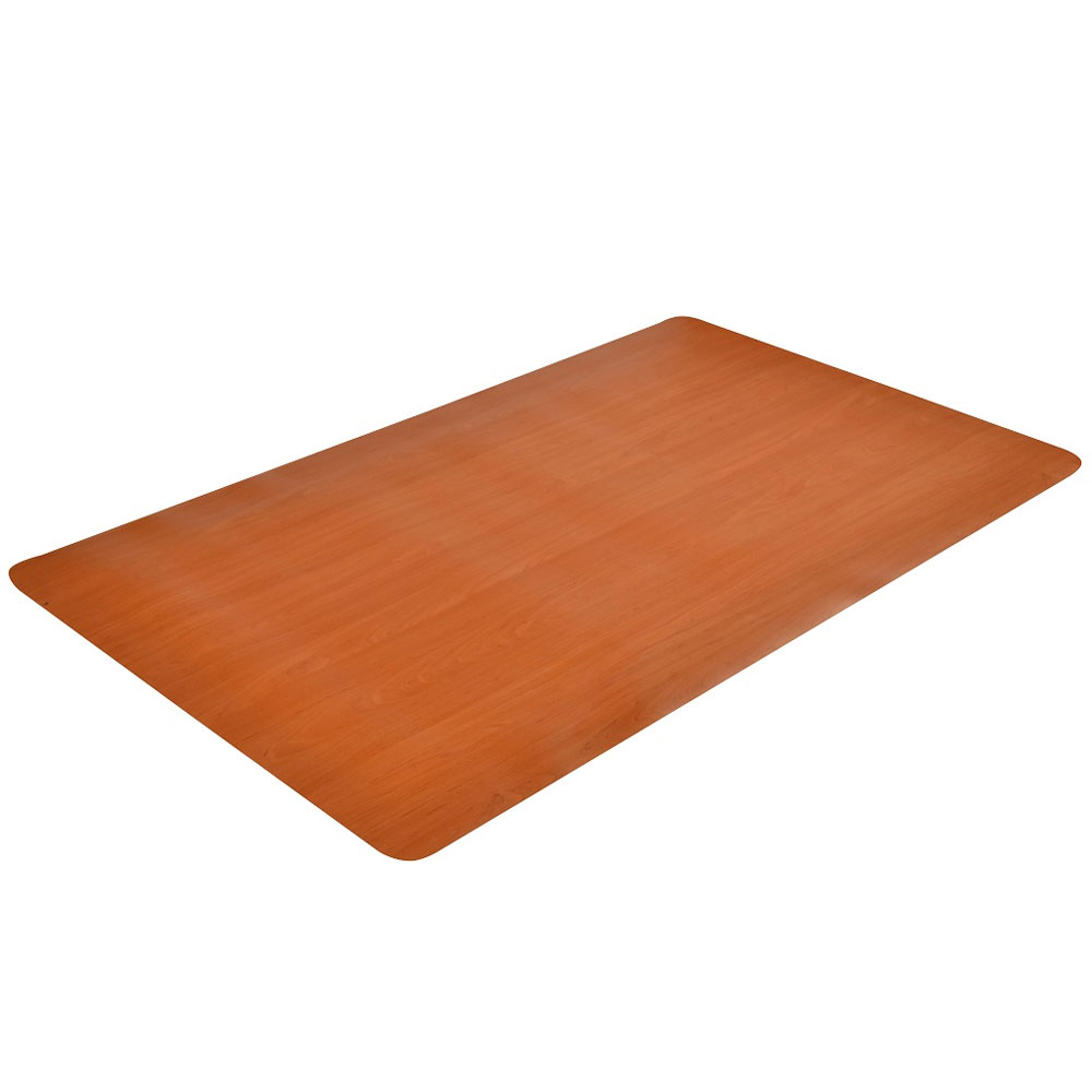 24 x 36 Inch Wood Grain Floor Mat in Kitchen Mats