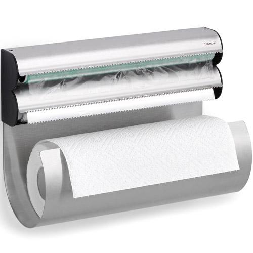 Blomus Food Wrap and Paper Towel Dispenser in Paper Towel