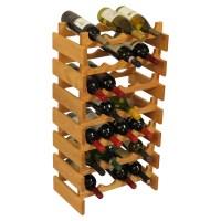 Wood Wine Rack - 28 Bottle in Wine Racks