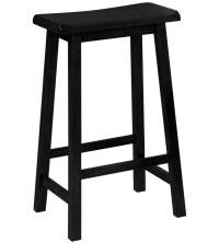 29 Inch Saddle Seat Bar Stool in Saddle Bar Stools