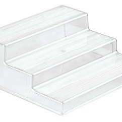 In Stock Kitchen Cabinets Reviews Ikea Remodel Cost 3-tier Cabinet Organizer Shelf Shelves