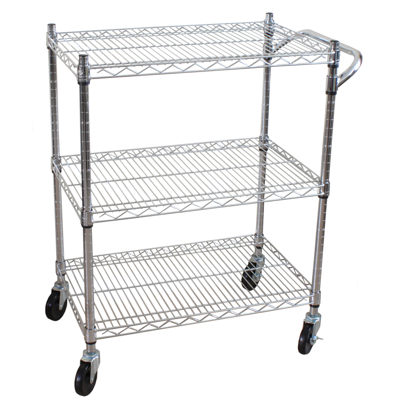 utility kitchen cart sink cabinets 3 tier heavy duty all purpose by oceanstar in