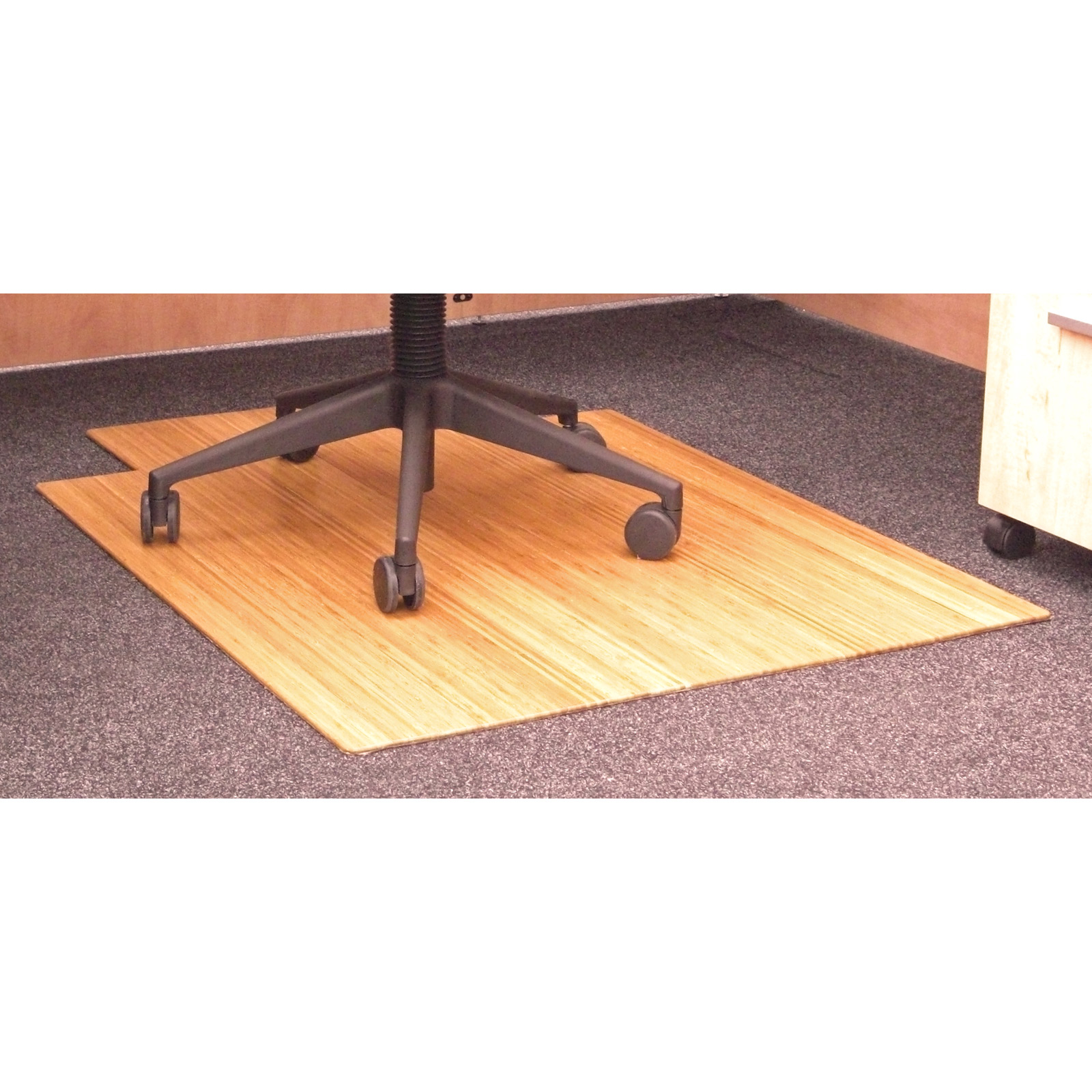office chair mat 48 x wooden parts 36 bamboo roll up with tongue in mats