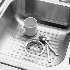 Cushioned Kitchen Mat Cheap Faucets With Sprayer Sink - Clear In Mats