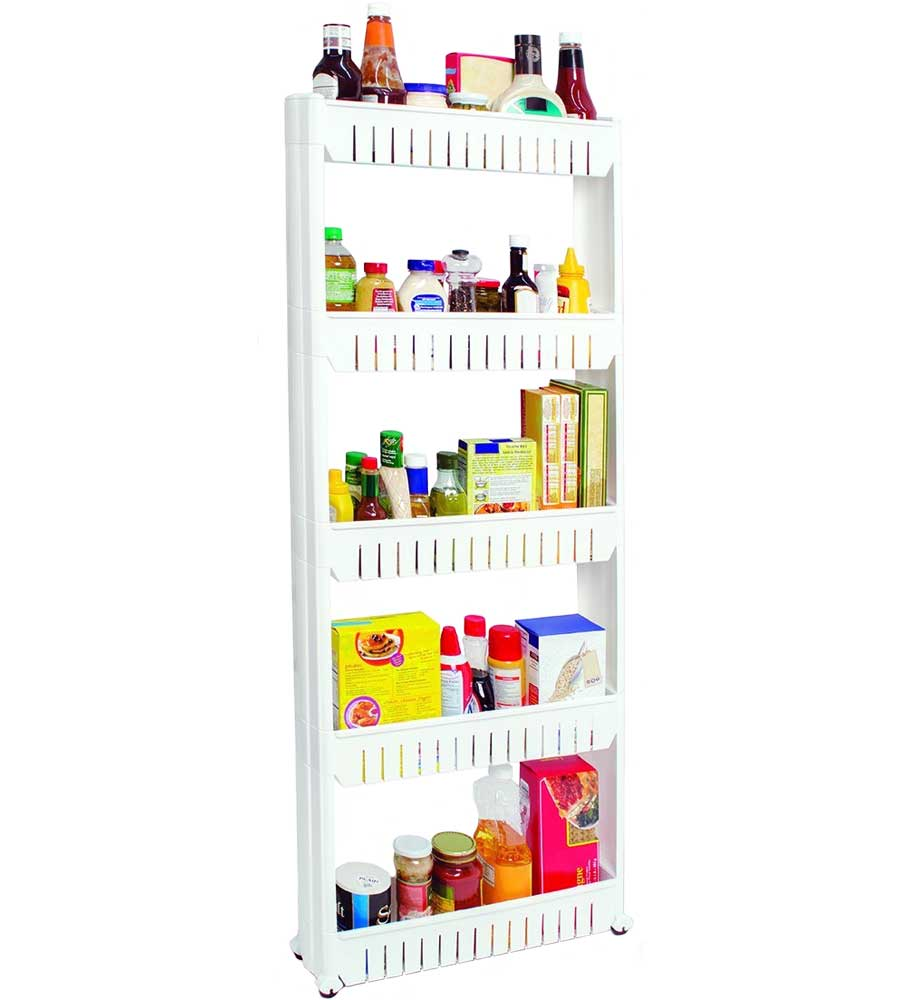 5Tier Slide Out Pantry in Pull Out Pantry Organizers