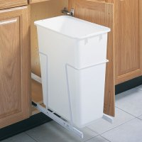 Pull-Out Cabinet Trash Can - 50 Quart in Cabinet Trash Cans