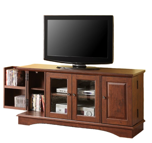 Wood TV Stands with Storage