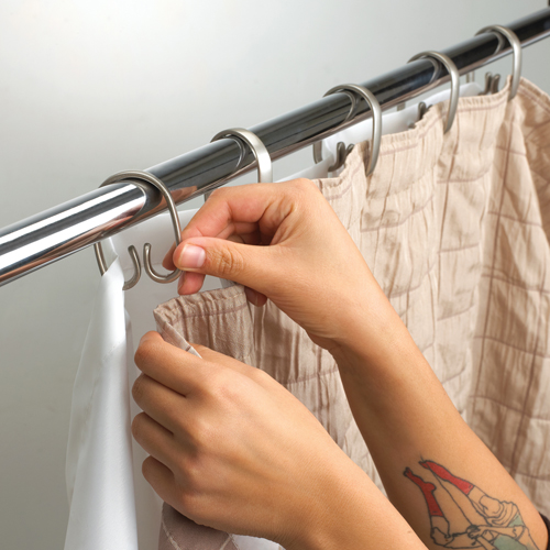 Umbra Shower Curtain Rings  Set of 12 in Shower Curtains