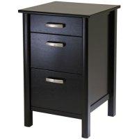 Liso File Cabinet - Espresso in File Cabinets