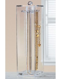 Acrylic Necklace Holder in Jewelry Boxes and Organizers