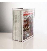 Acrylic Magazine Holder in Magazine Storage Boxes