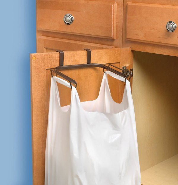 Over Cabinet Trash Bag Holder Year Of Clean Water