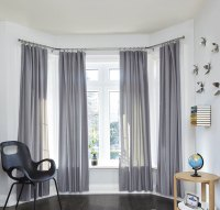 Bay Window Curtain Rod in Curtain Rods and Hardware