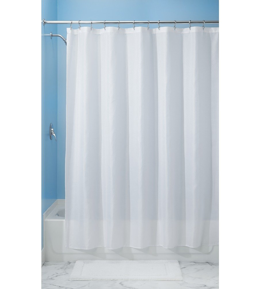 Extra Long Shower Curtain in Shower Curtains and Rings