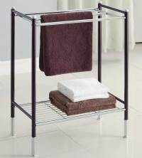 Floor Towel Rack in Free Standing Towel Racks