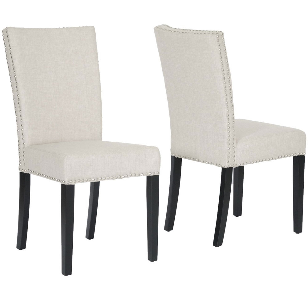 High Back Dining Chairs Set of 2 in Dining Chairs