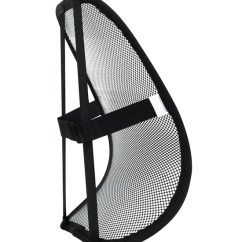 Chair Back Support Cat Hammock Under Diy Mesh In Lumbar Cushions