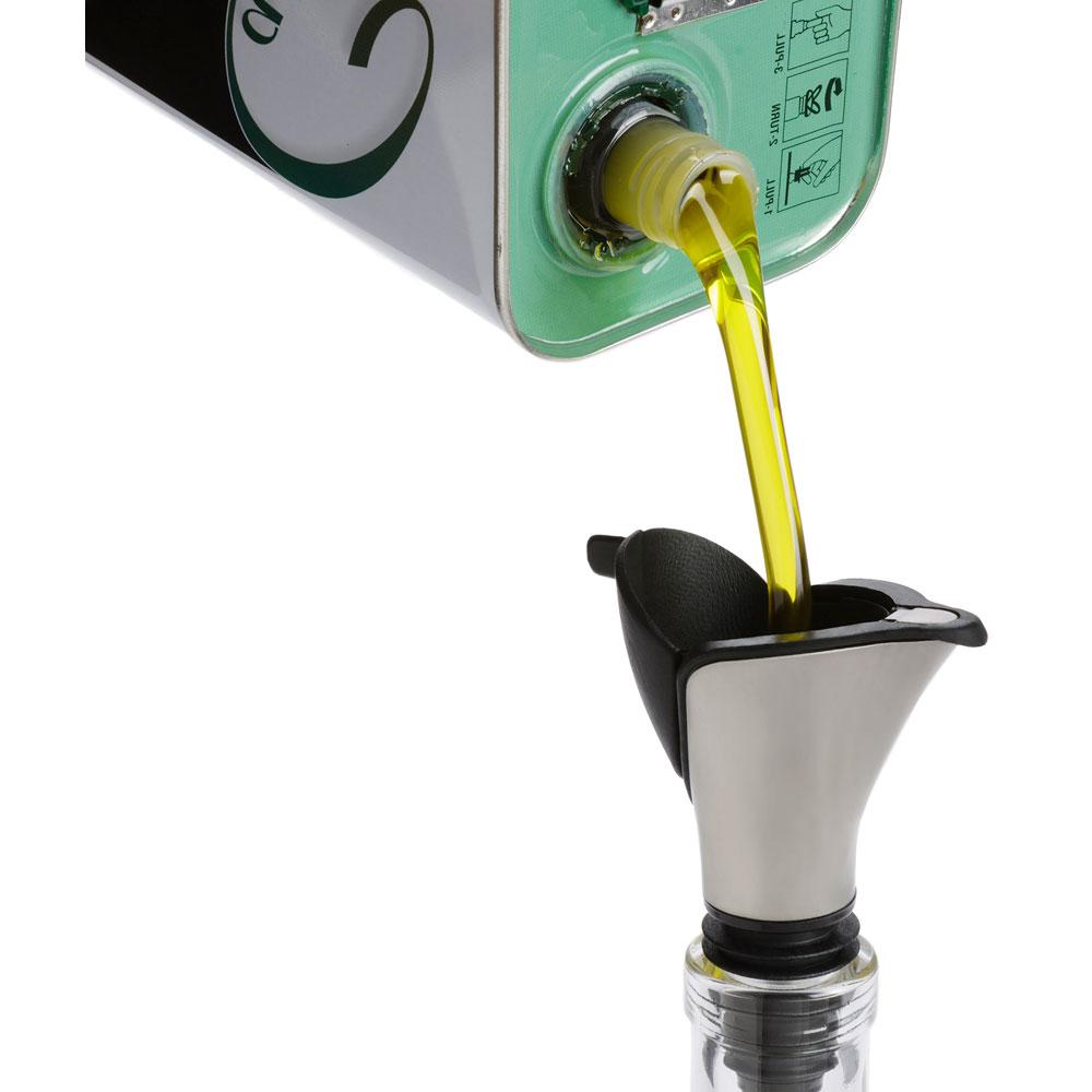 oil dispenser kitchen nook lighting olive and funnel in gadgets