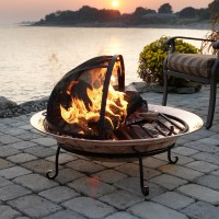 Outdoor Fire Pit - Medium in Fire Pits