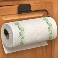 Over the Door Paper Towel Holder - Bronze in Paper Towel ...