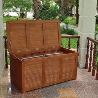 Patio Cushion Storage Box in Deck Boxes