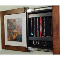 Picture Frame Wall Safe in Home Safes