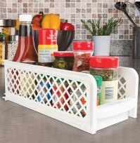 Pull Out Cabinet Baskets in Cabinet Shelves