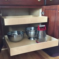 Pull Out Cabinet Shelf - 18 Inch Deep in Pull Out Cabinet ...