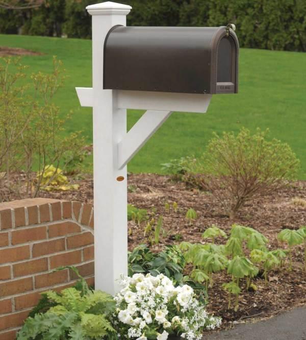 rural mailbox post - hazleton