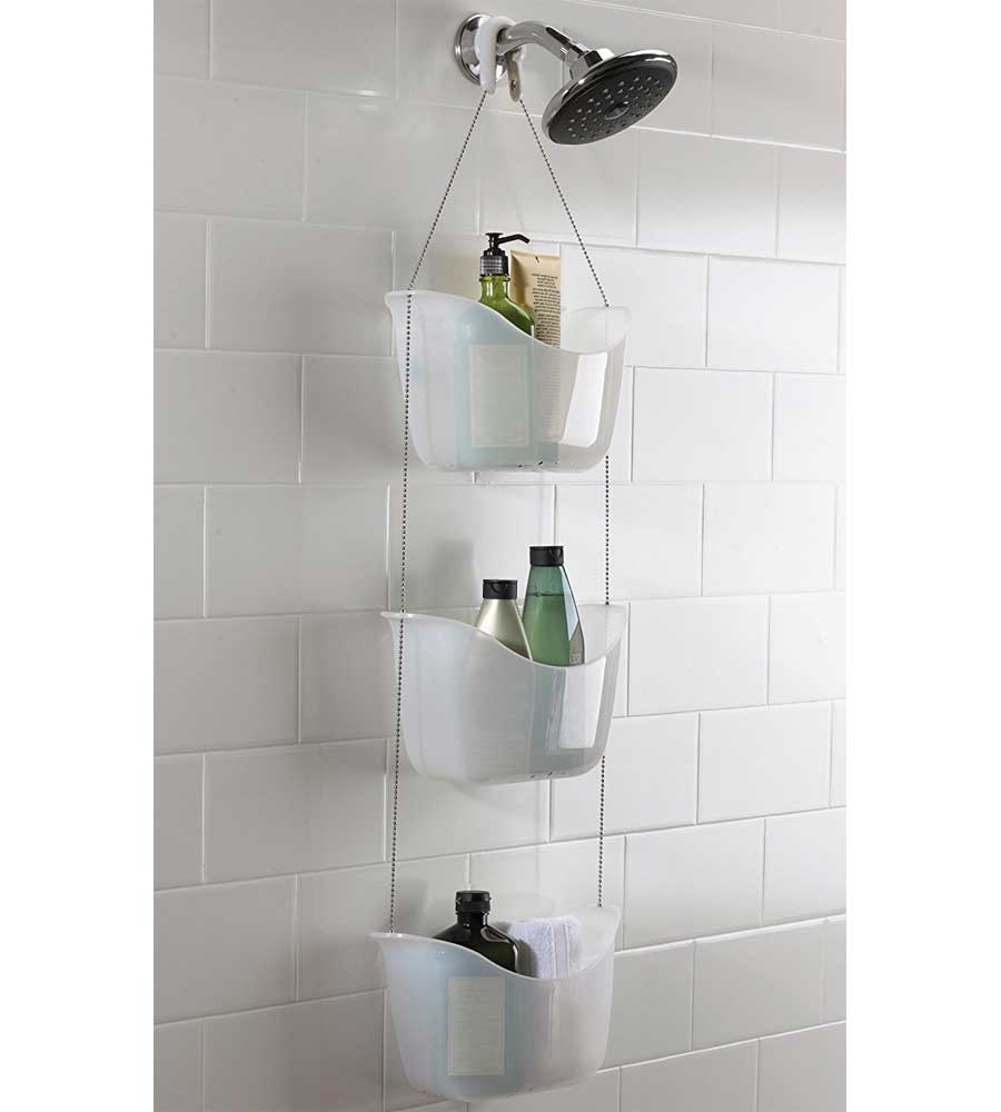 Three Basket Shower Caddy in Shower Caddies