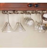 Under Cabinet Stemware Rack - Large in Wine Glass Racks