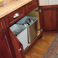 Under-Counter Trash Can by Polder in Cabinet Trash Cans