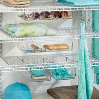 Under Shelf Storage Bin - Wire Shelving in Under Shelf ...