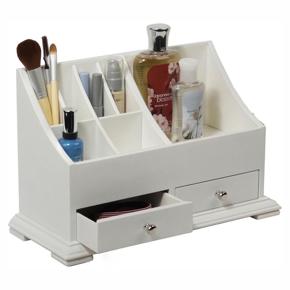 Bathroom Countertop Organizer In Cosmetic Organizers