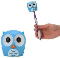 Bathroom Toothbrush Holder - Owl in Toothbrush Holders