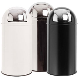 stainless kitchen trash can remodeling houston tx bullet commercial in steel cans