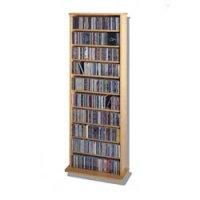 CD Rack - 500 Veneer - Multimedia Storage in Media Storage ...