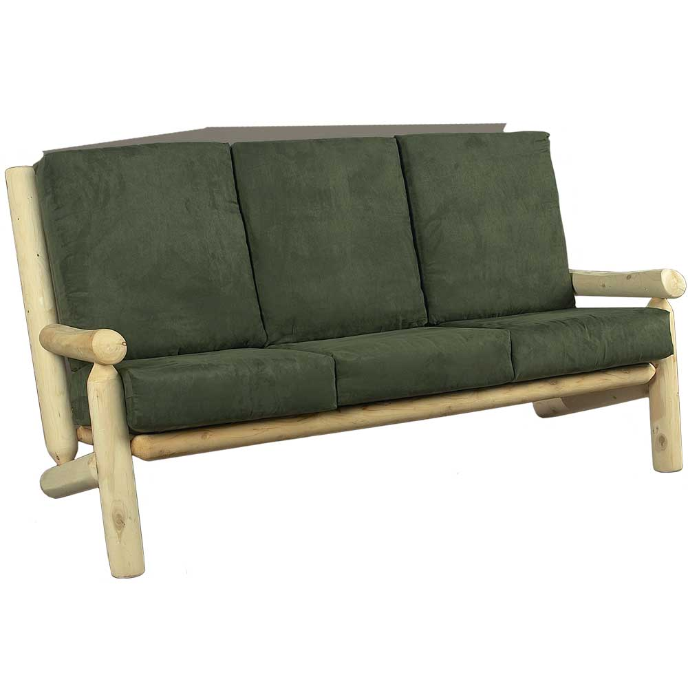 Cedar Log Living Room Couch in Sofas