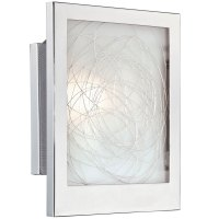 Chrome Wall Sconce - Paola in Sconces