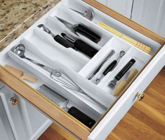 Kitchen Drawer Organizers And Trays