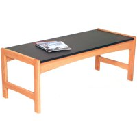 Coffee Table - Red Oak in Coffee Tables