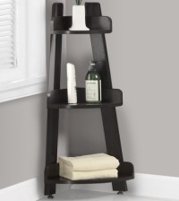 Corner Shelf Stand in Bathroom Shelves