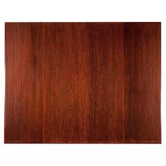 Bamboo Chair Mat Wing Back Slipcover 47 X 60 Tri Fold In Mats Image