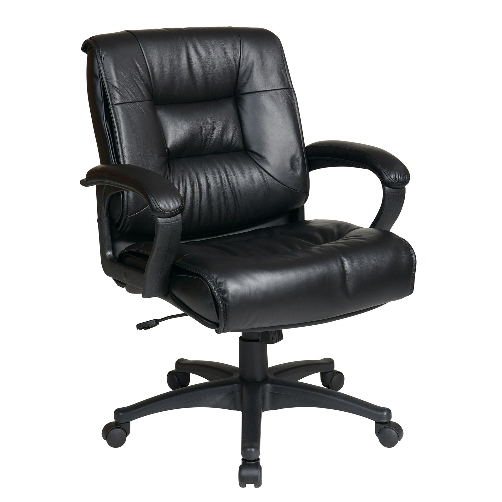 Mid Back Executive Leather Chair in Office Chairs