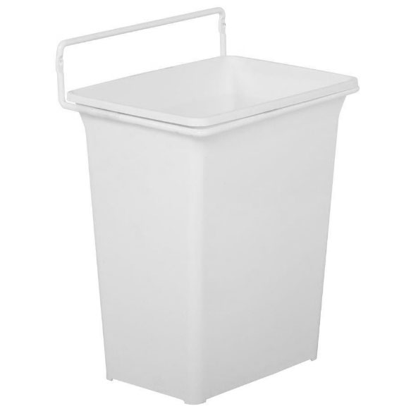 door mounted kitchen garbage can with lid stainless steel island trash in cabinet cans