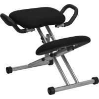 Ergonomic Kneeling Chair in Armless Office Chairs