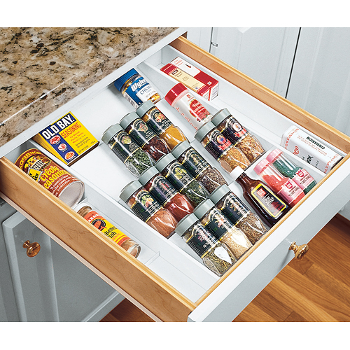 kitchen drawer organizer chelsea nook expand-a-drawer spice in organizers