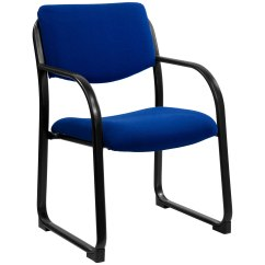 Fabric Side Chairs Hospital For Sale Executive Chair With Sled Base By Flash