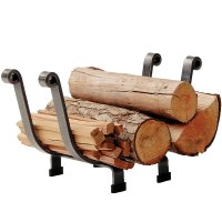 Fireplace Log Rack in Indoor Firewood Racks